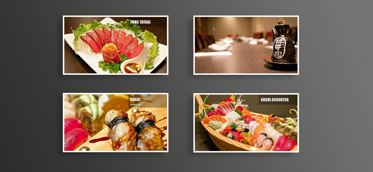 sushi moto professional photography